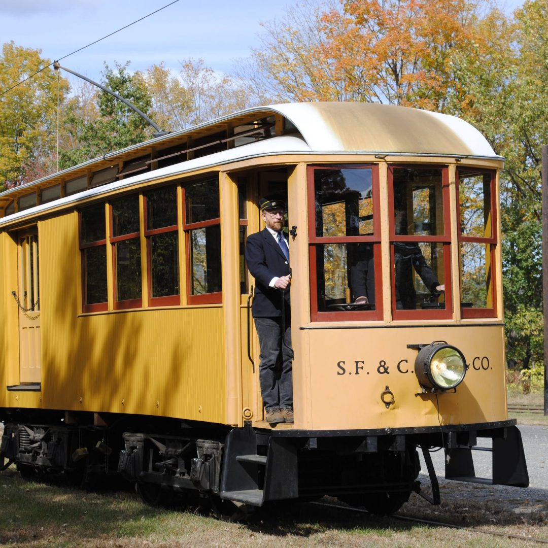 Shelburne Falls Trolley Museum header image