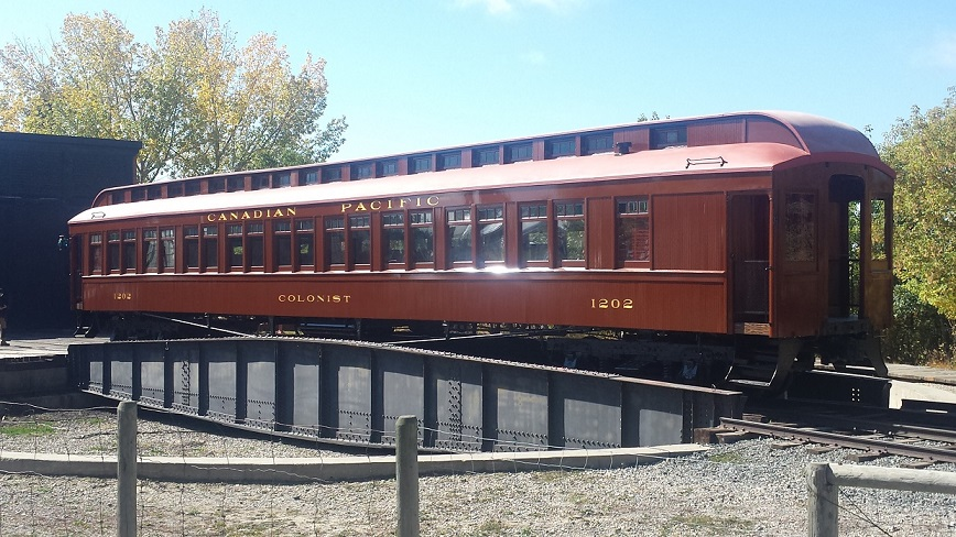 CP colonists cars and the restoration of #1202