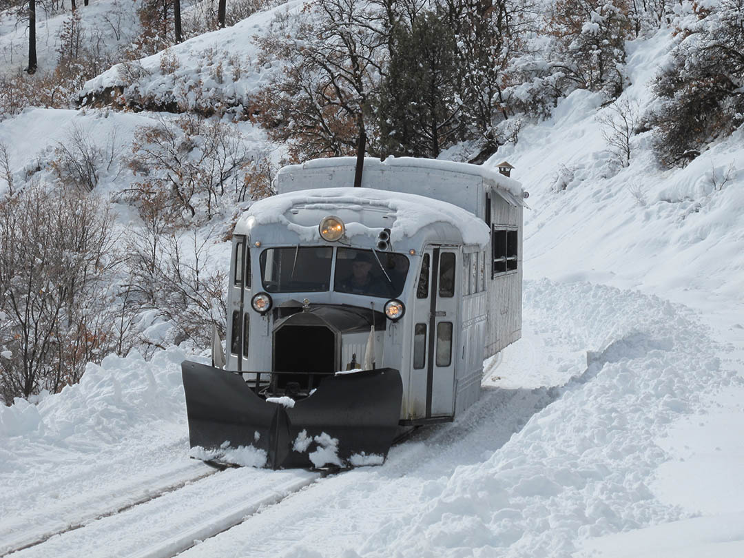 2019 Galloping Goose Winter Excursion on D&SNG