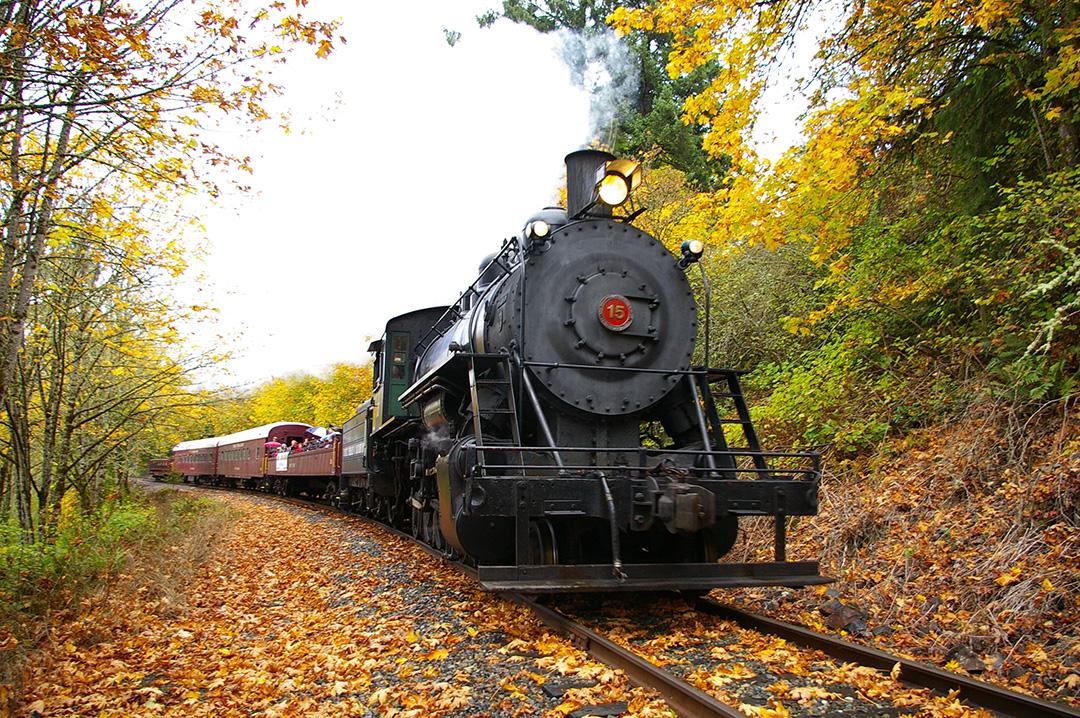 Chehalis Centralia Railroad & Museum Steam Train Ride