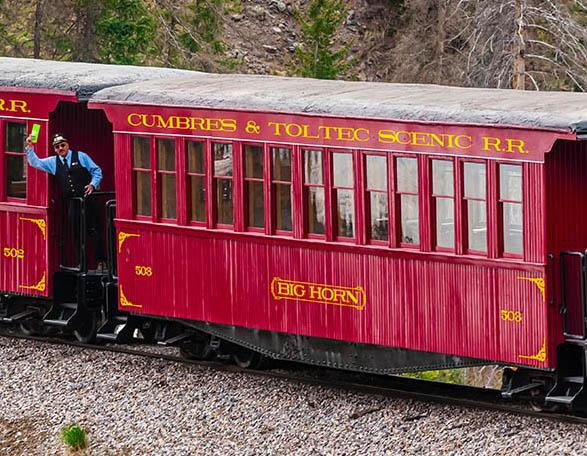 For Sale: Cumbres & Toltec Passenger Car