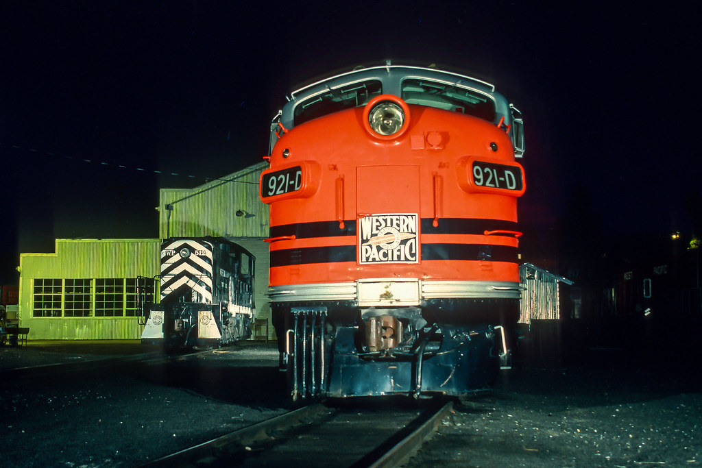 Vintage rolling stock on home rails